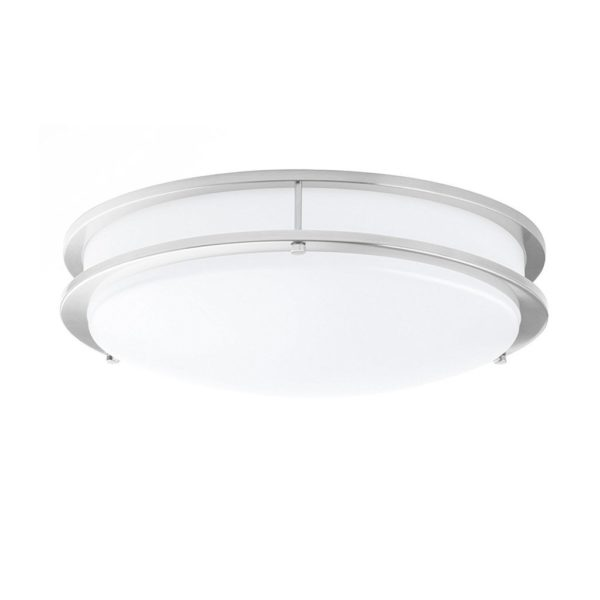LED_Double_Ring_12in_Flush_Mount-14_Watt-Dimmable-1100_Lumens-5000K_Brushed_Nickel-2